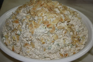 Chicken Almond Salad